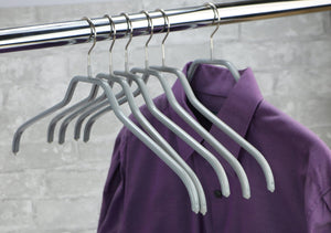 Cheap mawa clothing hanger silver 3