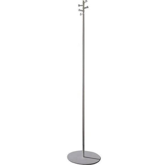 PSBA Coat Rack Stand Hanger Towel Holder 5 Rotating Hooks Stainless Steel Matte