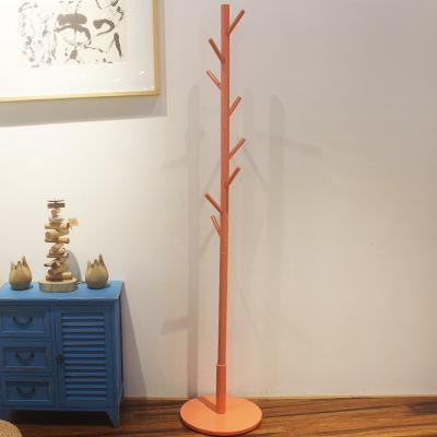 9 hook multi-color tree-style coat stand