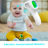 Forehead Thermometer Adult, Non-Contact Infrared Forehead Thermometer, Instant Reading Temperature Measurement Device for Baby Kids and Adults, Indoor and Outdoor