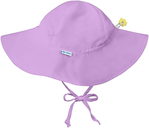 i play. by green sprouts Baby Boys' Brim Hat | All-Day UPF 50+ Sun Protection for Head, Neck, Eyes