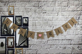 "Gender Reveal Party - Baby Shower Decorations -""baby girl"" Burlap Banner by Akak Store - Pregnancy Announcement"