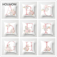 Wedding Decoration Letter Pillow Case Creative DIY Home Flamingo Unicorn Birthday Party Decorations Kids Baby Shower Decorations
