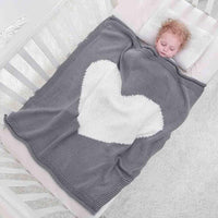 Baby Blanket Kids Winter Spring Soft Cotton Blankets Newborn Baby Swaddle Sleeping Bed Hole Wrap Children Bedding Bath Towels