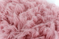 Curly Flokati Wool Blanket Greek Wool Rug Newborn Flokati Fur Backdrop Posing Blanket Newborn Photography Props Beanbag Cover