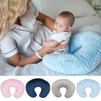 Baby U-Shaped Breastfeeding Pillow Nursing Pillow Cover Soft Slipcover Breastfeeding Cushion Cover Baby Shower Gift