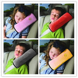 Safety Seat Belt Pad Car Styling Seat Belt Shoulder Protection Pillow Shoulder Strap Case Blue/Pink/Grey Cushion Support Pillow