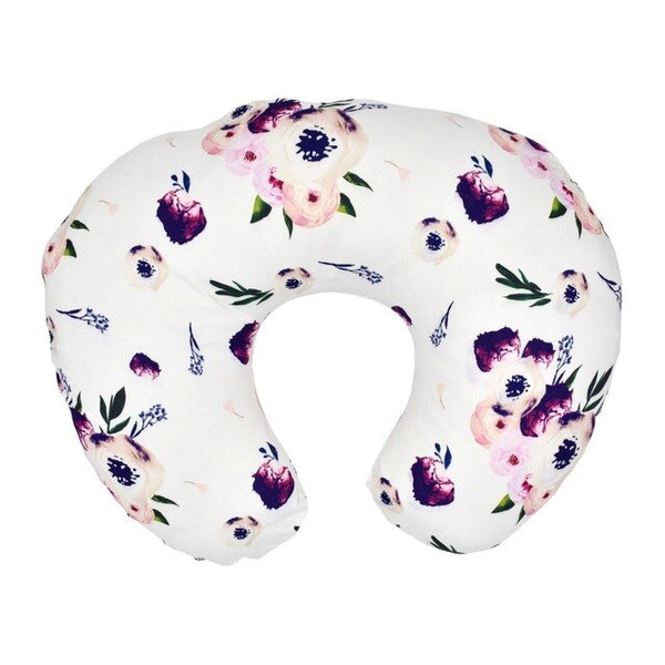 Baby Feeding Pillow Set Stretch U-Shaped Nursing Pillow Case Multi-functional Baby Sitting Pillow Deconstructable Pillow Case