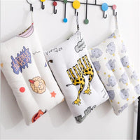 30*50CM 100% Cotton Baby Pillow kids pillow case Animal infant Newborns pillow cover Cartoon Children Pillow boys girls