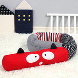 2m Baby Cot Bumper Pillow Crib Bed Toddler Protection Cushion Cotton Printed Washable Case Skin Friendly Super Soft Baby Pillow