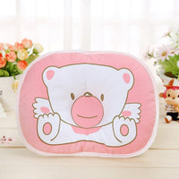 Baby Pillow Infant Boys Girls Heart Shape Toddler Sleep Positioner Anti Roll Cushion Flat Head Pillow Protection of Newborn Bebe