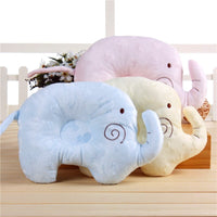 Baby Pillow Soft Cotton Lovely Cartoon Sleep Head Positioner Anti-rollover Head Protection Newborn gift Support