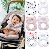 Pudcoco 2019 Brand New Style  Baby Car Seat Stroller Pram Soft Head Neck Body Support Cushion Pillow Newborn
