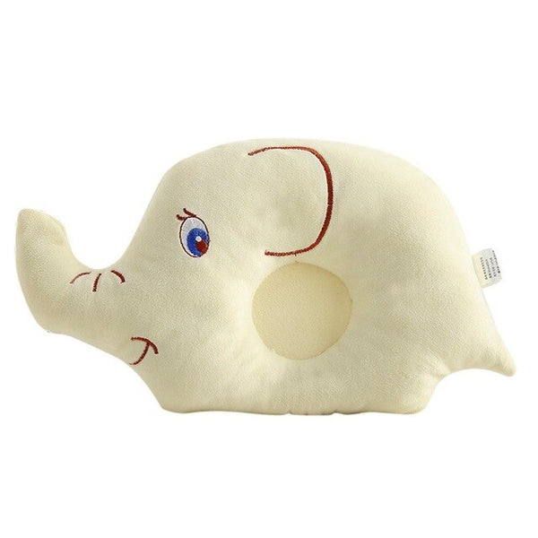 New Baby Boys Girls Shaping Pillow Flat Head Sleeping Positioner Support Cushion Prevent Elephant Styling Hot Sale Pillow