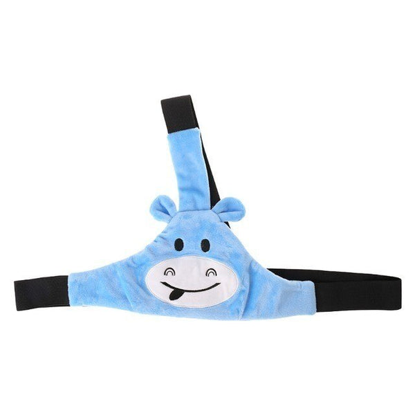 Cute Baby Car Seat Sleep Nap Aid Head Band Travel Safe Belt Pad Auto Belts Fixing Band Adjustable Support Kid Head Strap Pillow