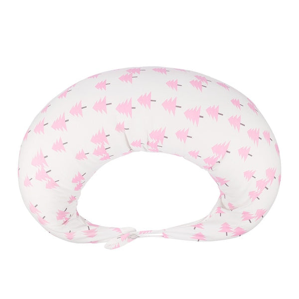 New Baby Nursing Pillows Maternity Baby Breastfeeding Pillow Infant Cuddle Moon Shaped Newborn Cotton Feeding Waist Cushion