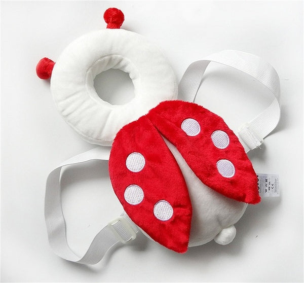 Baby Head Protection Pad Toddler Headrest Pillow Baby Neck Cute Wings Nursing Drop Resistance Cushion B0004
