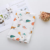 Bamboo Cotton Baby Blanket Newborn Bamboo Muslin Soft Baby Swaddle For Newborns Lovely Wraps Baby Bath Towel Soft Baby Blanket