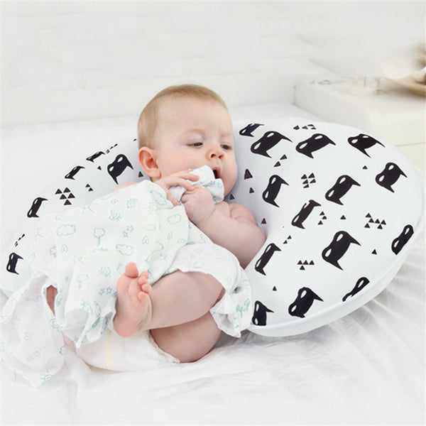 1pc Baby Feeding Pillow U-Shaped Newborn Cotton Breast Feeding Pillow Cushion Prevent Flat Head Baby Pillow Wholesale #TC
