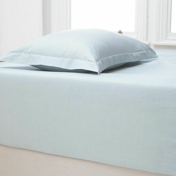 "Luxury Extra Deep Fitted Sheet 12""/30CM 100% Percale Cotton Bed Sheets All Sizes"