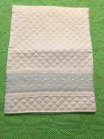 Embroidered Baby Pillow Case New With Tags $28 Retail Free Shipping