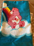 2 Care Bears Pillow Case Child's Rainbow Clouds Sunshine