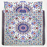 Indian Mandala Bedding Bedspread Bohemian King Tapestry Bedsheet Pillow Case