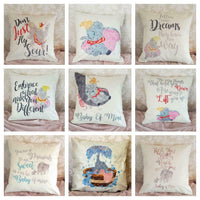 Dumbo Disney baby of mine nursery quote Cushion Cover Pillow Case Home Gifts
