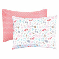 Hudson Baby Envelope Toddler Pillow Case 2pk, Woodland Fox, One Size