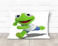 Baby Kermit Logo Pillow Case