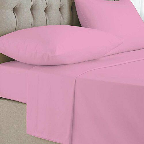 New 100% Egyptian Cotton 2x Pillow cases Cover Pair Housewife 2 Pack Pillowcase