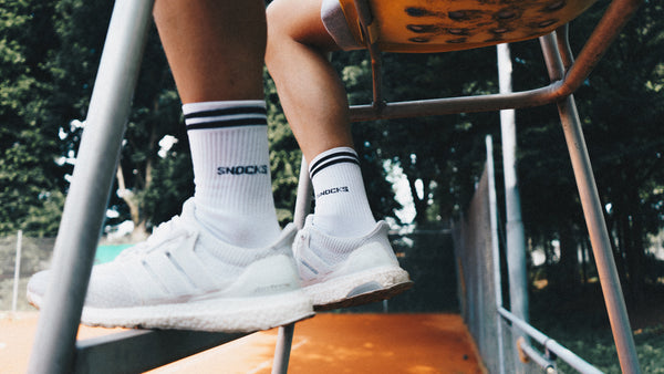 Tennissocken - Retro Socks bei Snocks