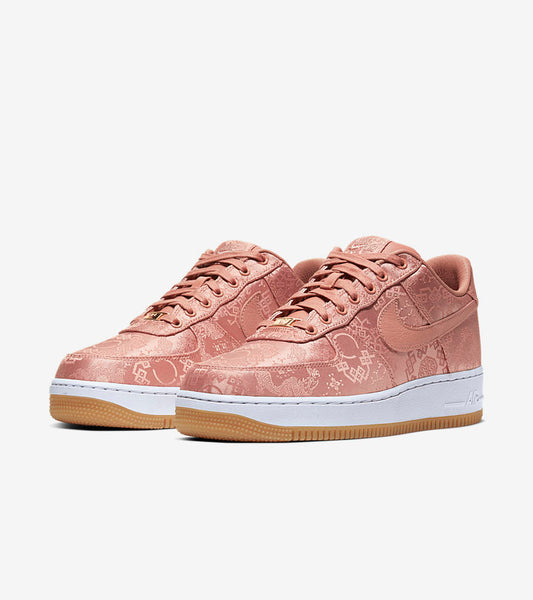 CLOT x Nike Air Force 1 Low – Rose Gold Silk