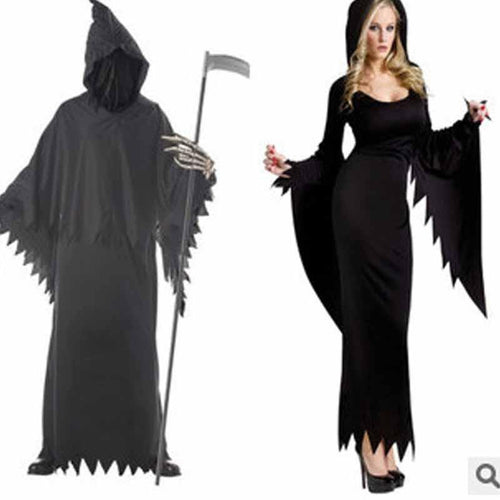 Halloween Plain Night Wandering Soul Female Ghost Couple Suit