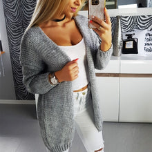 Casual Loose Knit Cardigan