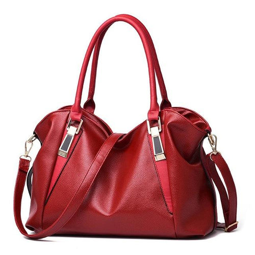 PU Leather Bag Office Ladies Hobos Bag Totes