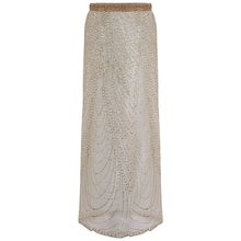 Sexy Split Sequins Beach Vacation Skirt