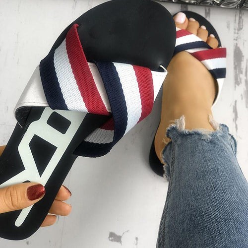 Fashion Simple Flat Beach Sandal