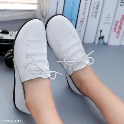 Casual Leather Strap Flats