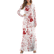 Halloween Party Long Sleeve Dress