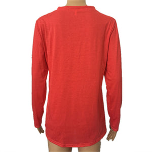 Letter Printed Long Sleeve T-Shirt