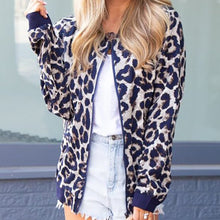 Fashion Leopard Personality Casual Cardigan Jacket