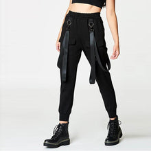 Personality Lanyard Multi-Bag Fashion Casual Pants