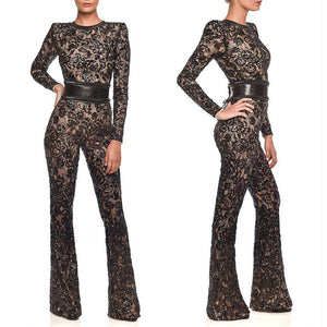 Sexy Fashion Long Sleeve Jumpsuit