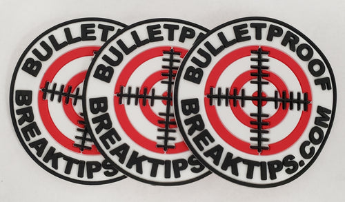 Bulletproof Break Tips Patch (3 pack)