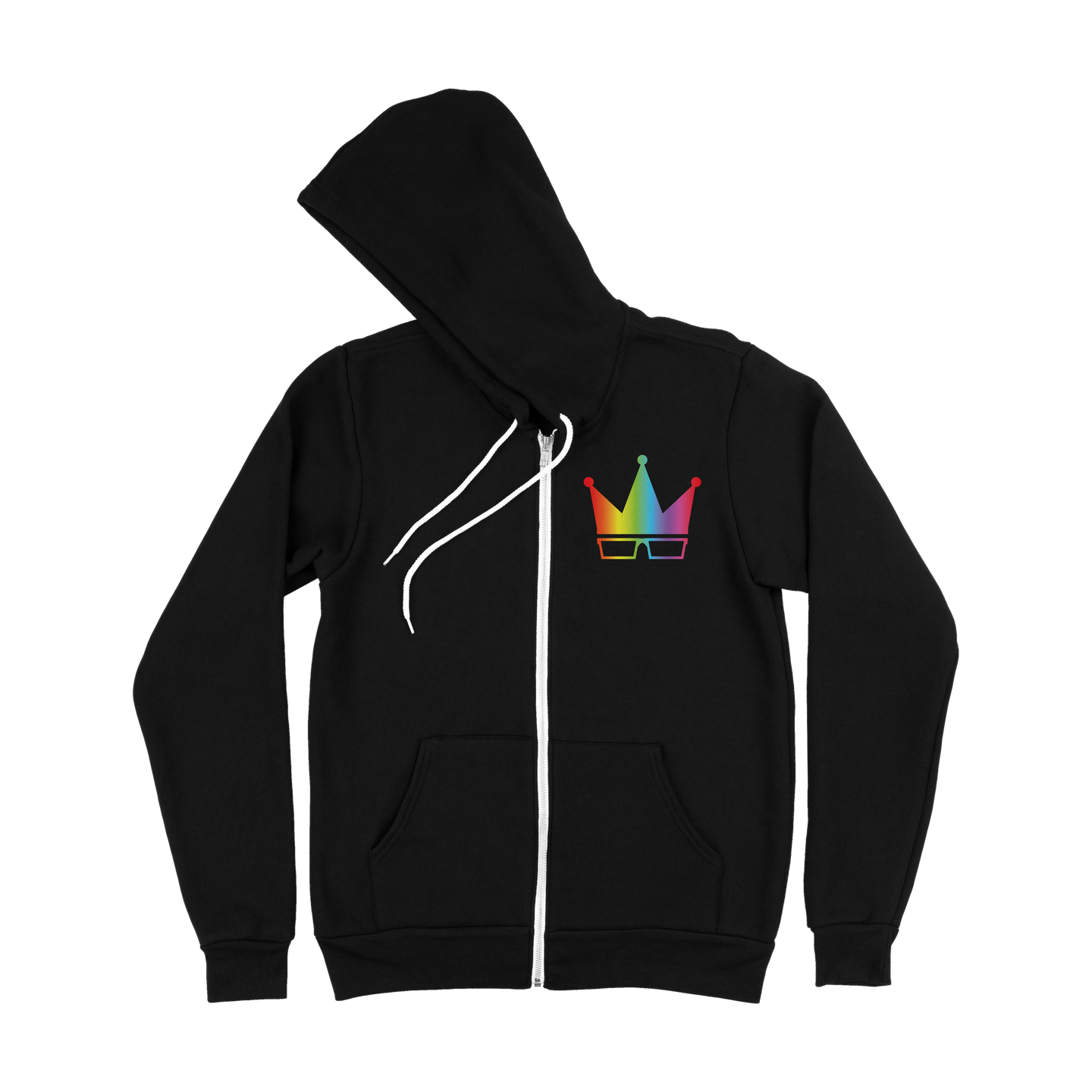 YEAR 2 | RAINBOW CROWN ZIP-UP