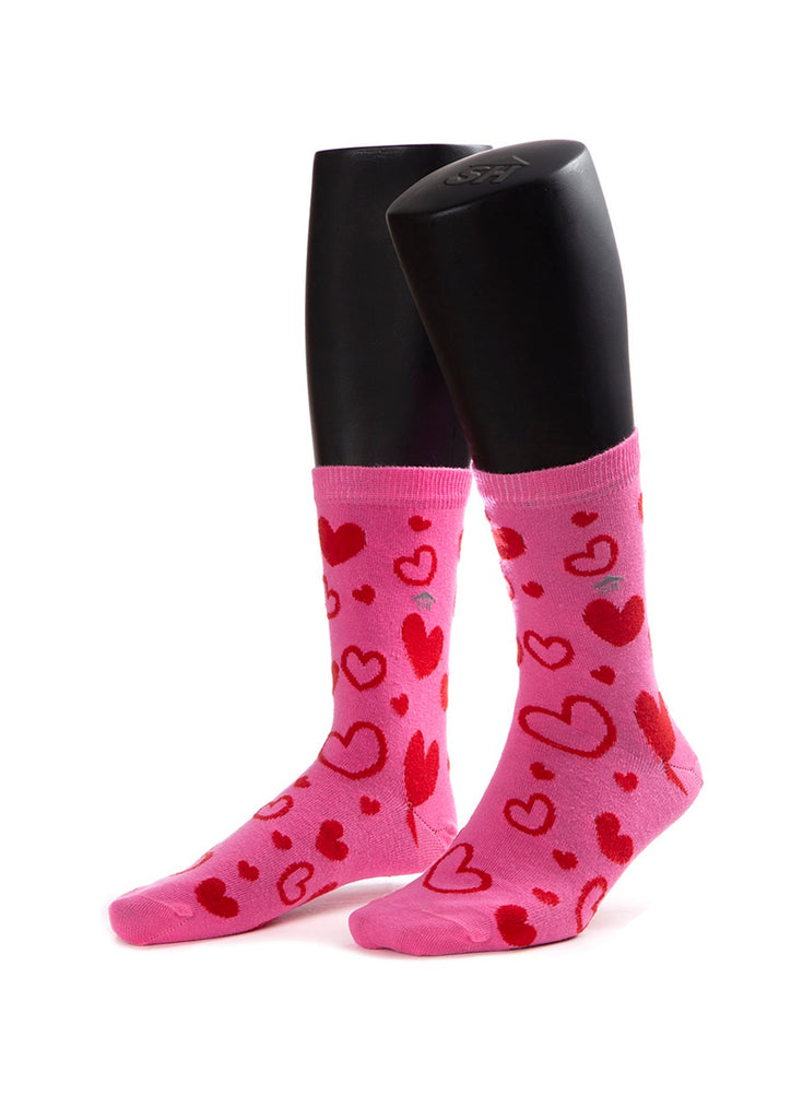 Heart Design Socks