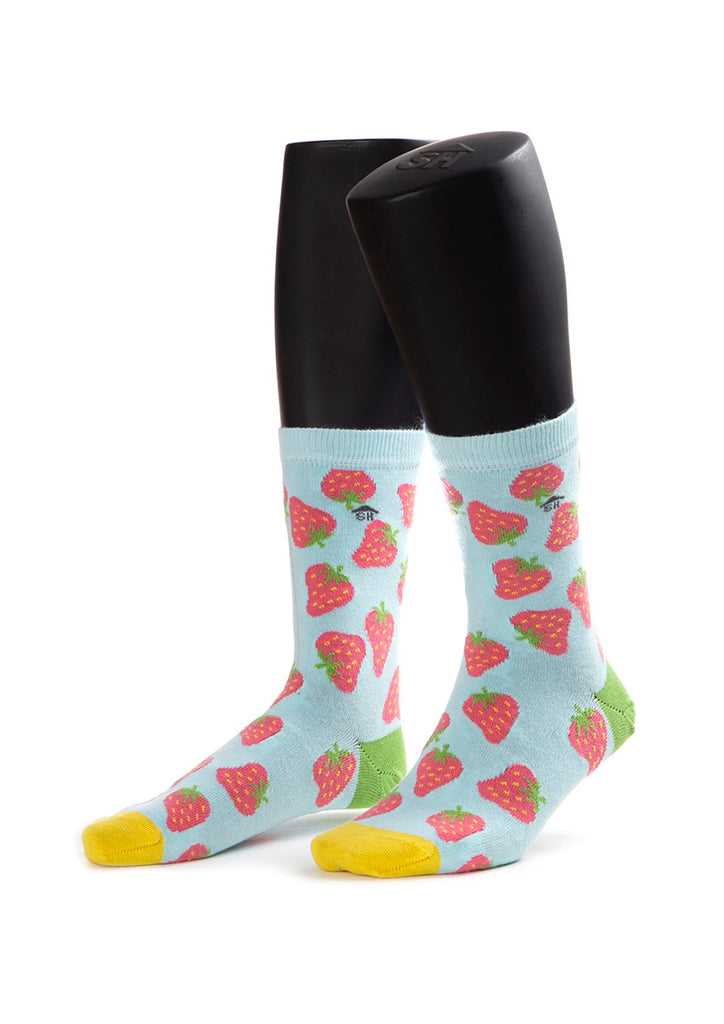 Strawberry Design Socks
