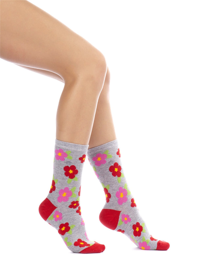 Flowers Design Socks