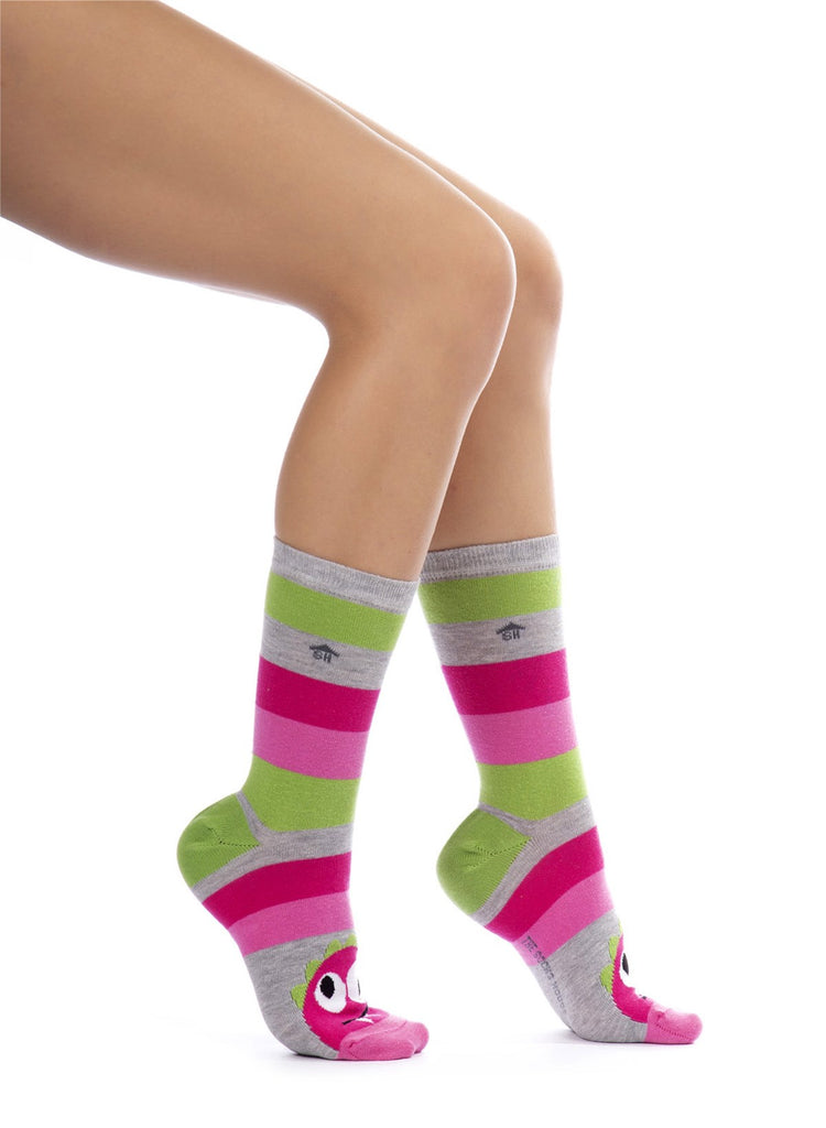 Wild Strawberry Design Socks